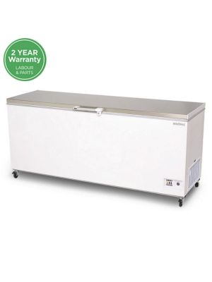 CF0700FTSS Flat Top Stainless Steel 675L Storage Chest Freezer