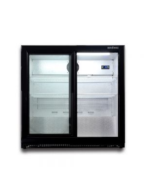 BB0200GDS-NR Back Bar Display Chiller 190L (Sliding Door)