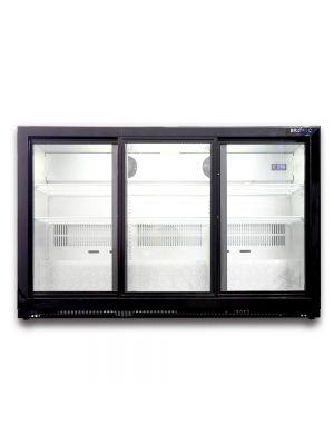 BB0330GDS Back Bar Display Chiller 307L (Sliding Door) Front View