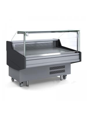 Square Deli Glass Display - 1500mm