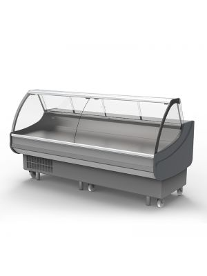 Curved Deli Display - 2500mm