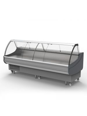 Curved Deli Display - 3000mm
