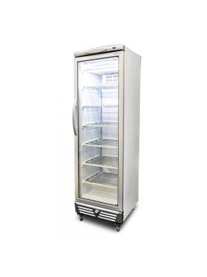 UF0374S LED Flat Glass Door 300L Upright Display Freezer