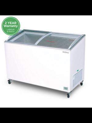 CF0600ATCG Angled Glass Top 555L Display Chest Freezer