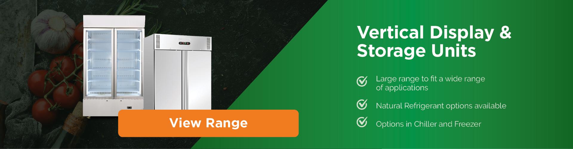 Vertical Fridge Range | Bromic Refrigeration